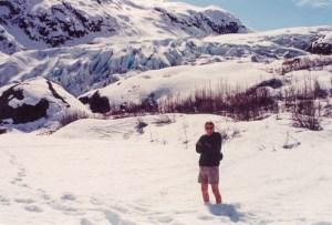Kenai Fjords NP Exit Glacier winter