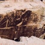 Petrified Forest NP petroglyphs