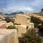 Red Rock Canyon NCA Sandstone Quarry