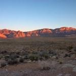 Red Rock Canyon NCA escarpment