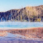 Yellowstone NP Grand Prismatic Spring