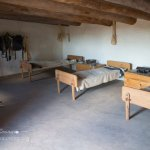 Bent's Old Fort living quarters