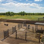 Bent's Old Fort corral