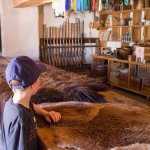 Bent's Old Fort fur pelts