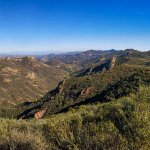 Santa Monica Mountains NRA Backbone Trail View