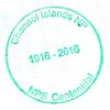 Passport Stamp Channel Islands NP NPS Centennial