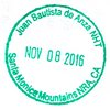 Passport Stamp Santa Monica Mountains NRA 2016