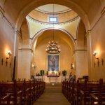 San Antonio Missions NHP Concepcion church interior