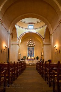 San Antonio Missions NHP Concepcion church interior