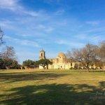 San Antonio Missions NHP San Jose courtyard