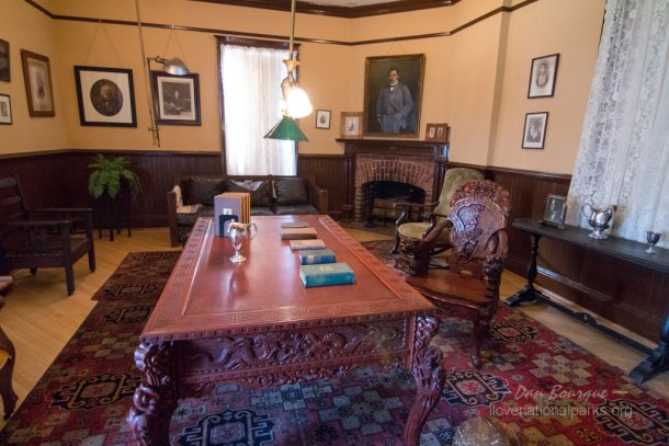 Tuskegee Institute NHS The Oaks Booker T Washington office