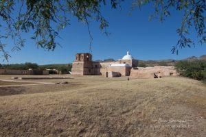 Tumacacori courtyard