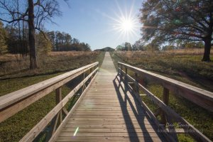 Ocmulgee walk to Earthlodge