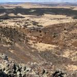 Capulin Volcano Crater Vent Trail view