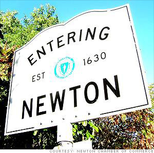 Newton Ma best place to live