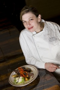Rebecca Newell, Chopped Champion, The Beehive, The Beehive Chef