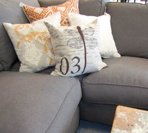 Darby Road, custom sectional, custom chair, custom couch