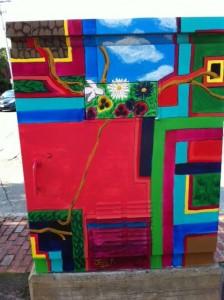 box art newton, boxart, street art newton, newton