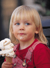 free Cabots ice cream, Newton Free Library