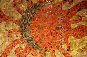 custom tile backsplash, mosaic tile artist
