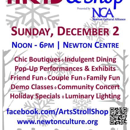 Newton Arts Stroll and Shop