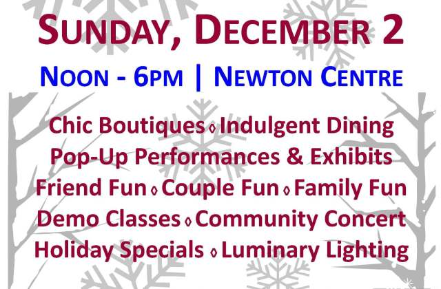 Newton Arts Stroll and Shop