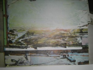 "Jessup - ""Utah"" oil on canvas 90 x 80"