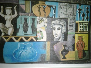 "Morrison ""Fragments of the Past"" 53x83 $ $5,200"