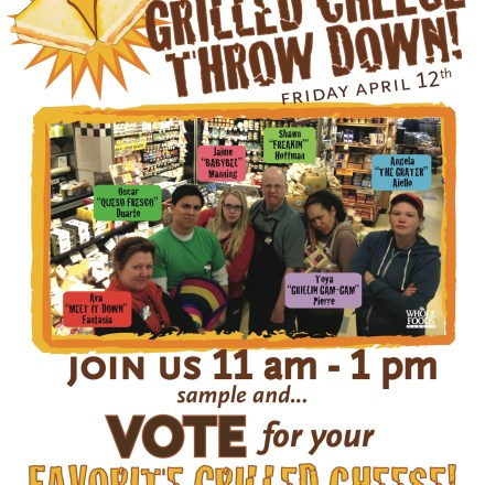 grilled cheese throwdown, Whole Foods Newton