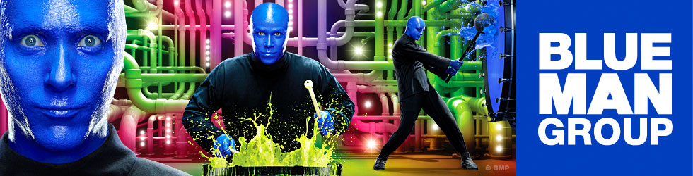 Blue Man Group One Fund show