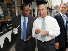 first black president, first black governor of massachusetts, first black mayor of Newton MA all together
