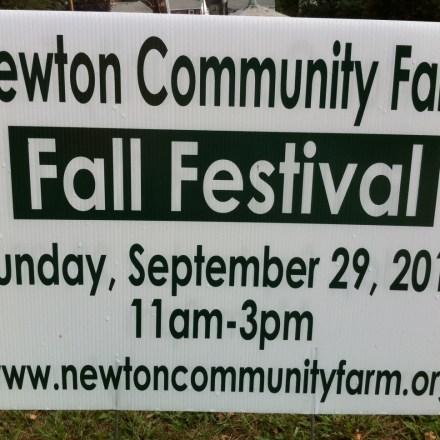 Newton Harvest Festival, Newton MA