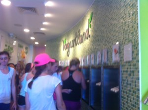 Newton Yogurtland Grand Opening