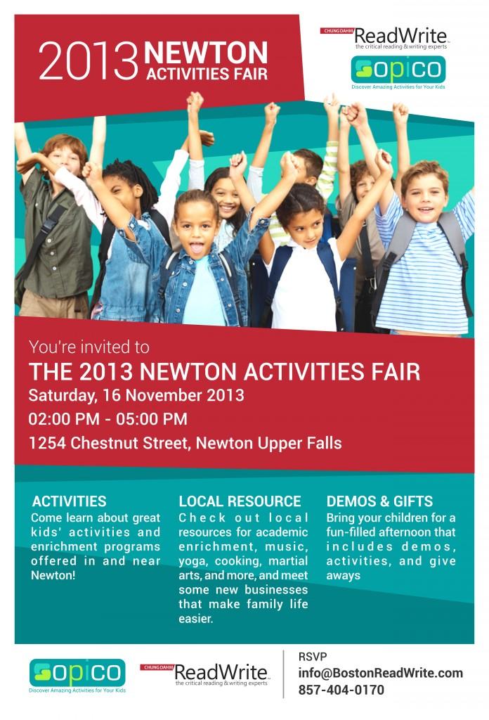 Activities Fair Invitation