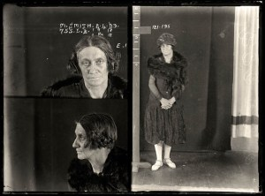 1920s mugshots