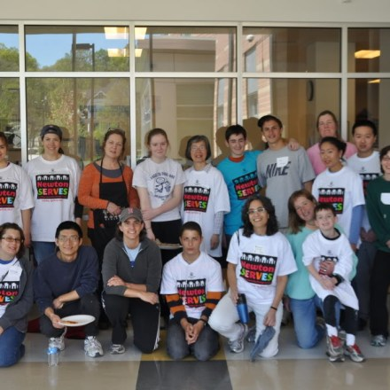 NNHS Newton Serves Operation Bold Paint Project