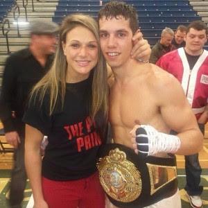 Boxer Amanda Parvone Olympics
