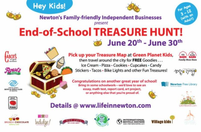 End of School Treasure Hunt!
