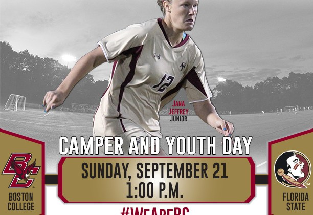 Boston College women's soccer big game against Florida State