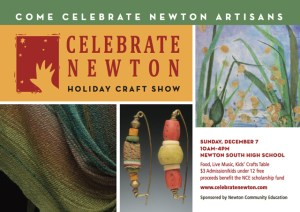 Celebrate Newton Holiday Craft Show!