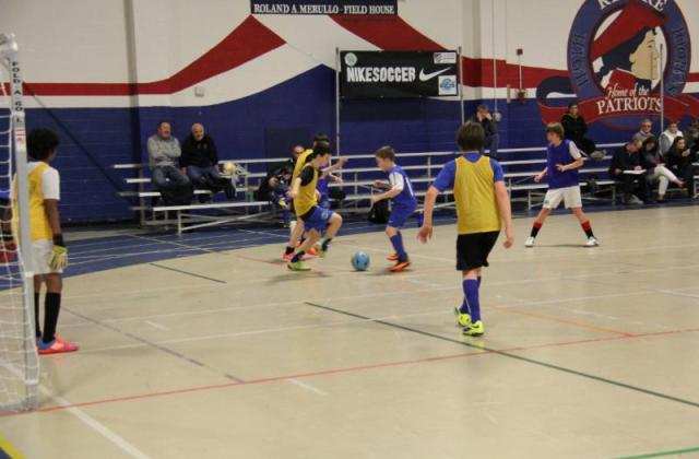junior academy training by FC Bolts in Stoughton