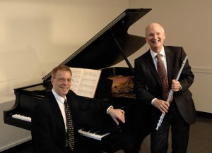 James Winn and David Kopp, Acclaimed Flute/Piano Concert,