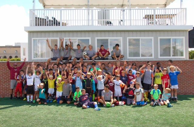 Boys Soccer Clinic at Harvard