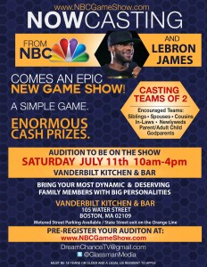 NBC has teamed up with All-Star LeBron James for a game show