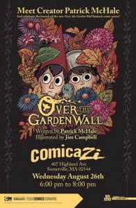 Over the Garden Wall Book Signing