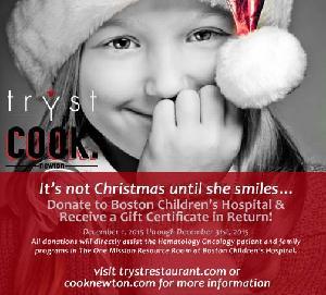 Holiday Fundraiser to Benefit Boston Children's Hospital