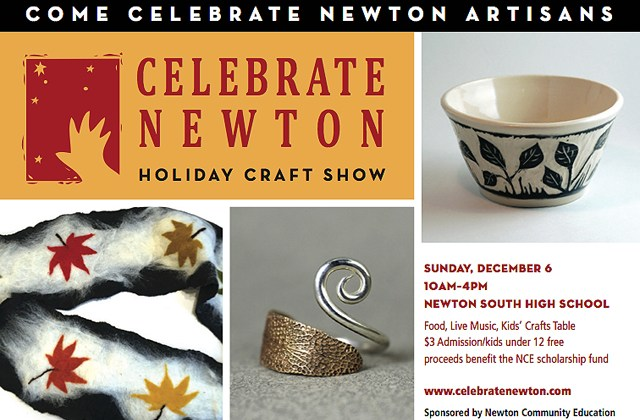 Celebrate Newton at NSHS on Sunday, Dec 6th.