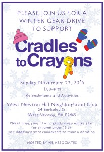 Event and Date Change Cradles to Crayons