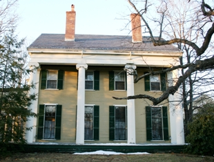 Nathanial Allen House in West Newton
