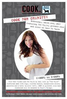 Cook Welcomes Jen Royle as Celebrity Chef